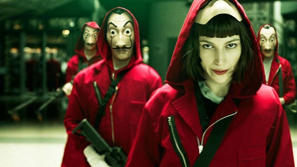 La Casa de Papel, série espanhola exibida pela Netflix no Brasil